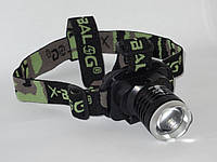 Налобный фонарик Police Bailong BL-6809  99000W фонарь на голову