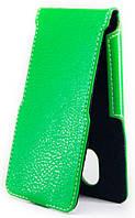 Чехол Status Flip для Lenovo A820 Green