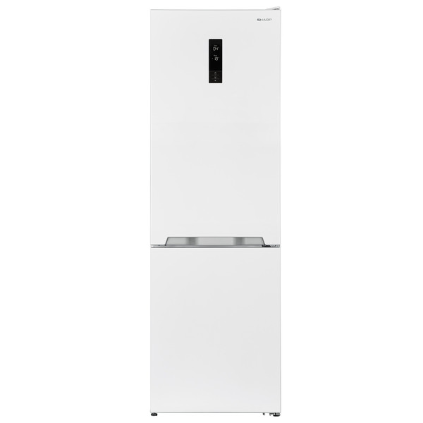 Холодильник SHARP SJ - BA 10 IEXI 1 WHITE нижняя морозильная камера