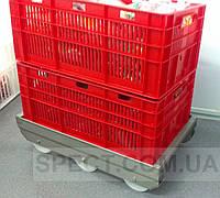 Транспортные тележки (тележки для ящиков) усиленная, фото 1