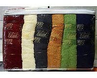 Набор махровых полотенец Gulcan 70х140 6шт.