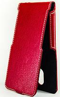 Чехол Status Flip для Samsung Galaxy J1 Mini J105 Red