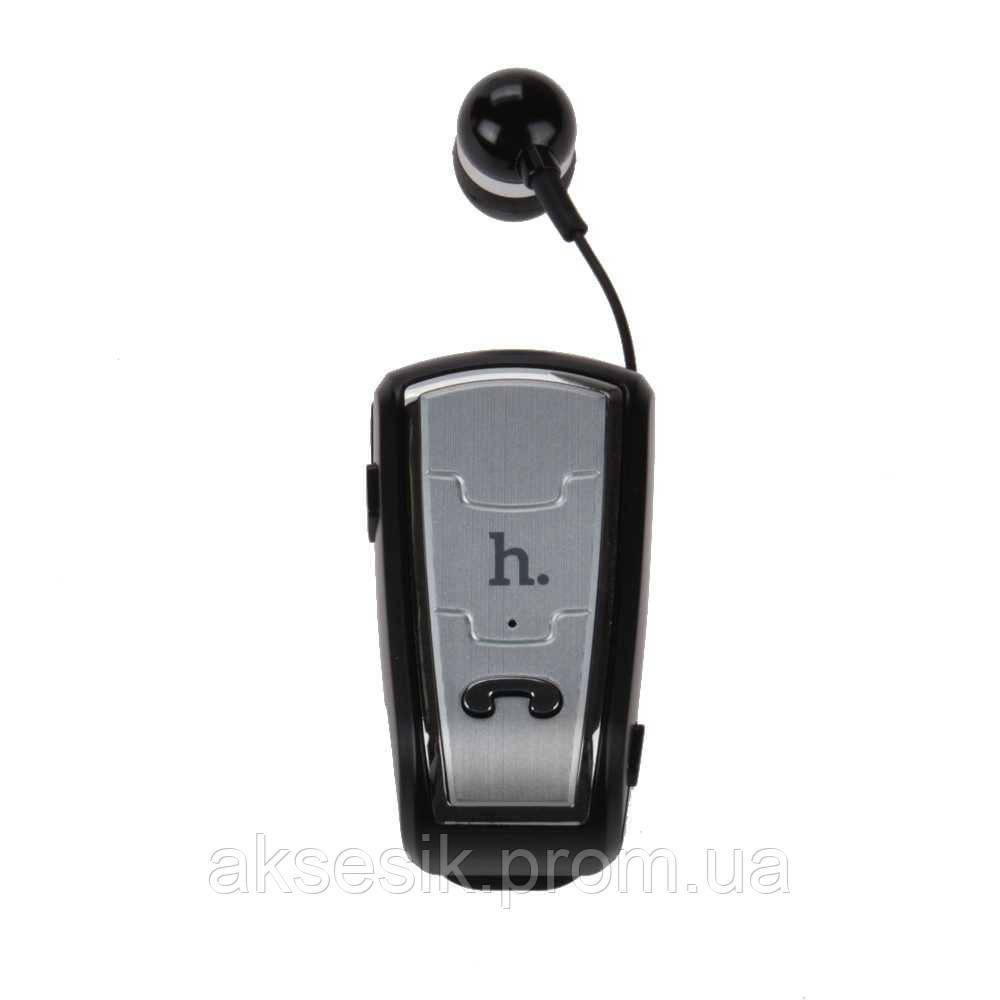 Гарнитура Bluetooth HOCO E4 с автосмоткой