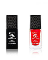 Покриття для нігтів Flormar Up to 7 days shine & color step 2 top coat, 8 ml., покрытие для ногтей.
