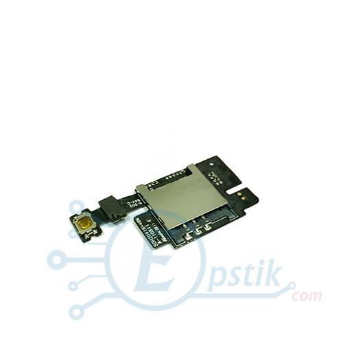 Коннектор Шлейф SIM-карты HTC C110e Radar Оригинал