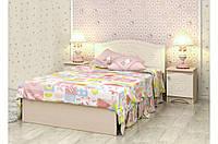 Детская кровать «Kiddy» 70x140 см, без ящиков, цвет: венге светлый+ваниль