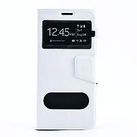 Чехол (книжка) с TPU креплением для Samsung Galaxy Note 5             Белый