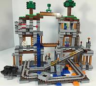 Конструктор Bela 10179 Шахта 926 дет (по типу LEGO 21118 Minecraft)