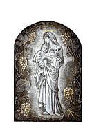 Икона Божья Матерь с младенцем и ягненком