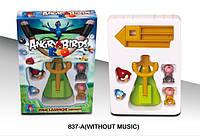 Детская настольная игра Angry Birds 837-1, игровой набор, детская рогатка Angry Birds-Rio
