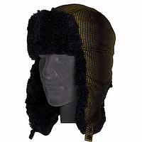 Теплая шапка ушанка для мужчин