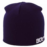 Качественная вязанная мужская шапка Boy