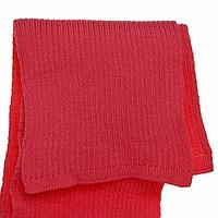 Красный женский шарф теплый