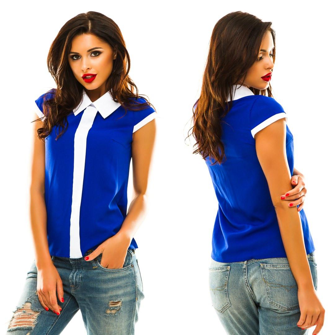 Блуза без рукавов, р. 50,52,54 код 842А