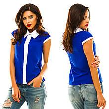 Блуза без рукавів, р. 50,52,54 код 842А
