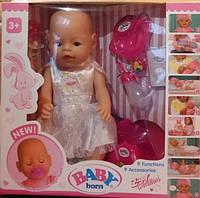 Кукла-пупс Baby Born, Оригинал, девять функций. BL-77771.