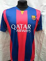 Футбольная форма взрослая Барселона гранатово-синяя