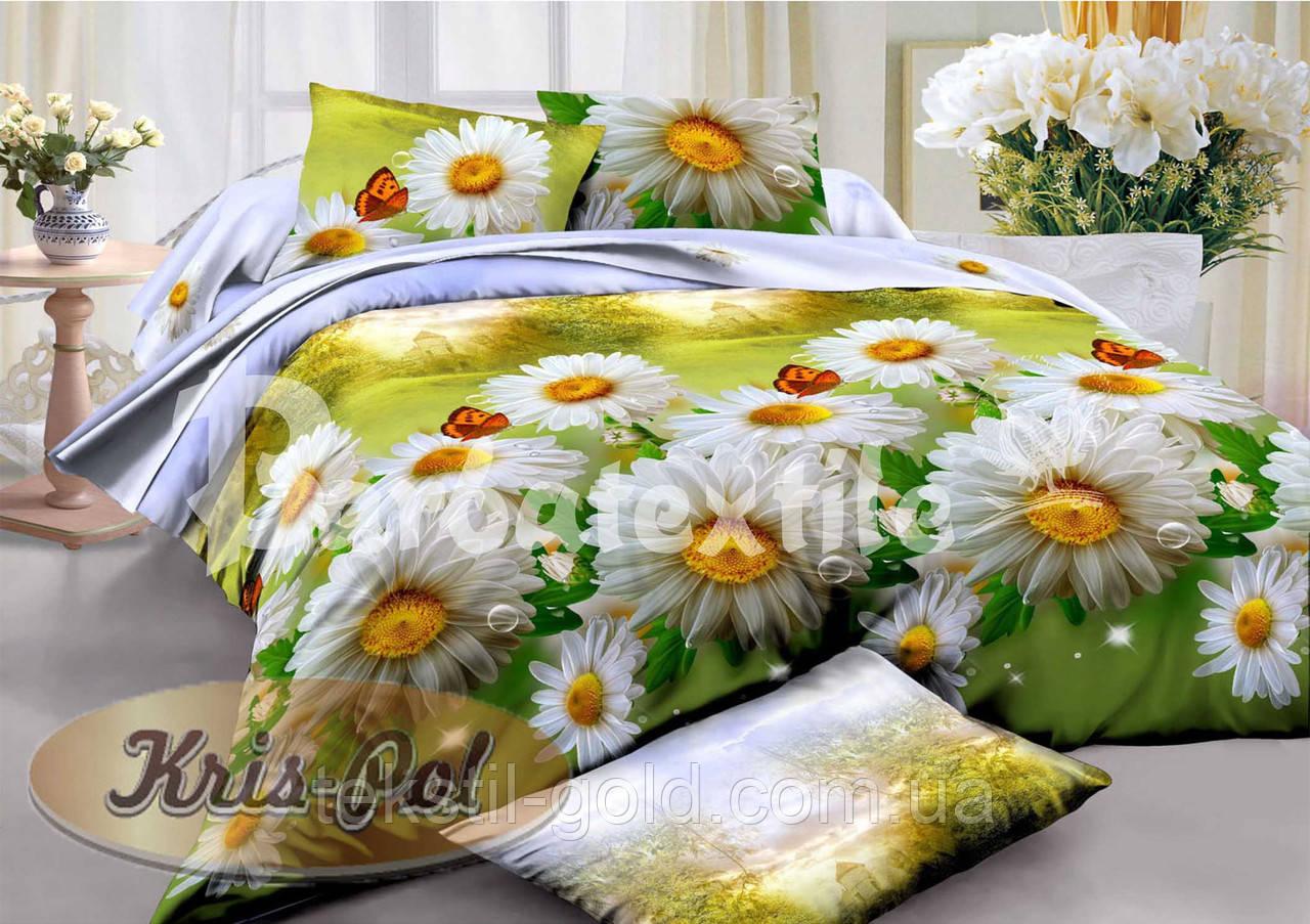 Комплект постельного белья ТМ KRIS-POL (Украина) ранфорс евро 5718085