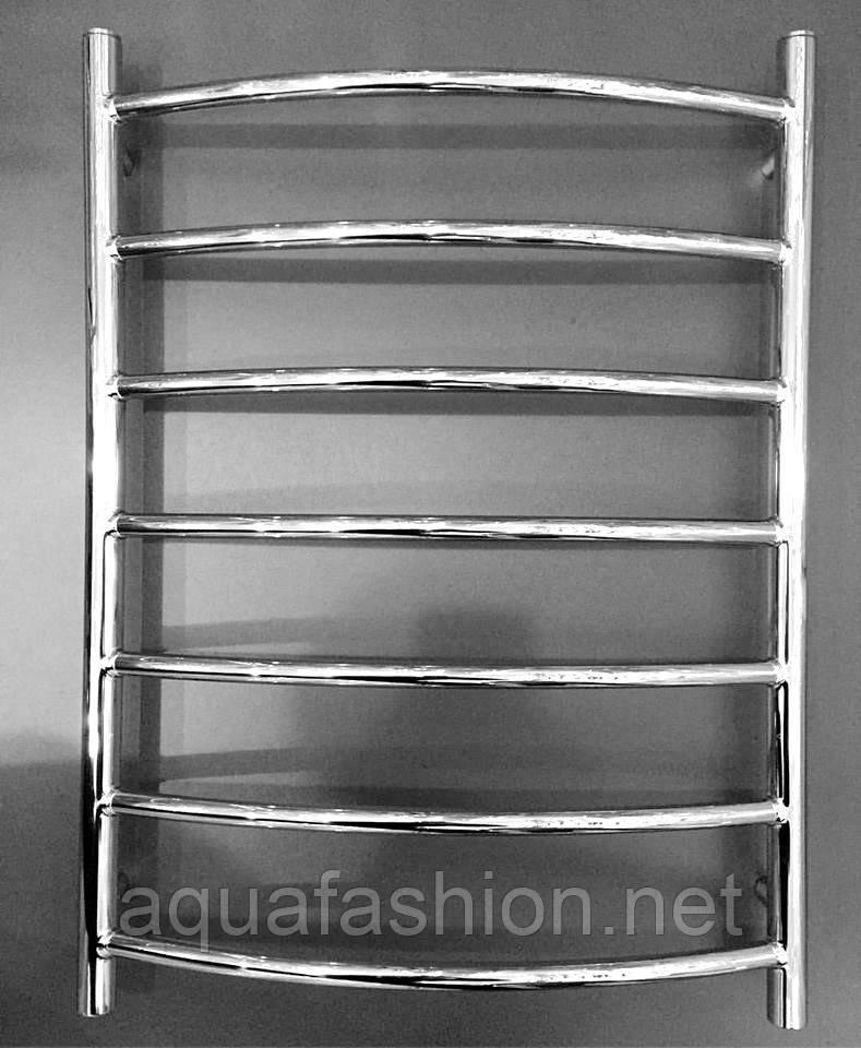 Полотенцесушитель водяній латунь Веселка 7 Україна АЗОКМ 500*700 хром