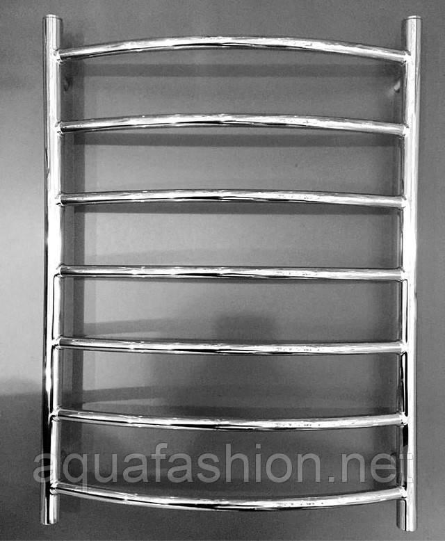 Полотенцесушитель водяній латунь Веселка 7 Україна АЗОКМ 500*700