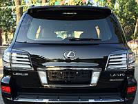 Фонари задние, стопы на Lexus LX570 (black)