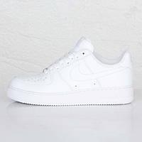 Детские кроссовки Nike Air Force 1 Low White - 1050