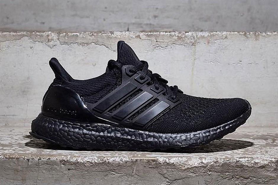 Кроссовки Adidas Ultra Boost Black 3 - 1190  продажа, цена в ... 1bfb021f748