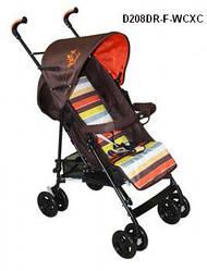 Детская коляска трость Geoby D208DR-F, гарантия 6 месяцев