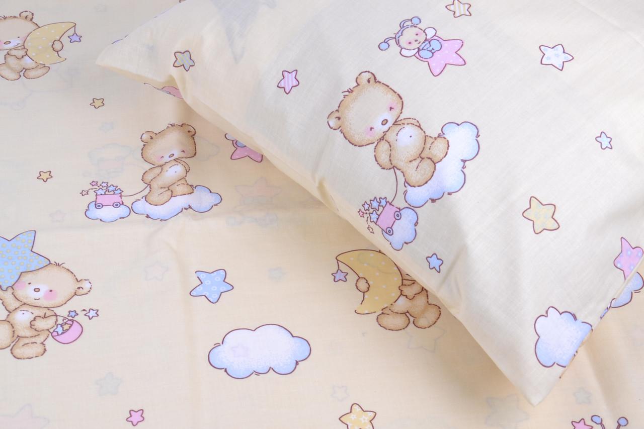 """Детское постельное в кроватку """"Мишки""""  (арт. AN50/03)"""