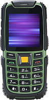 Телефон Nomi i242 X-treme Black-Green