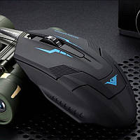 Мышка RAJFOO I5 USB проводная оптическая компьютерная игровая