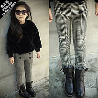 Детские утепленные штаны для девочки