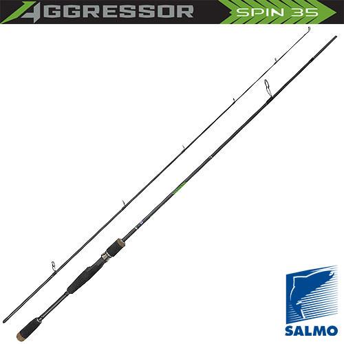 Вудилище спінінгове Salmo Aggressor SPIN 35  10-35/2.70