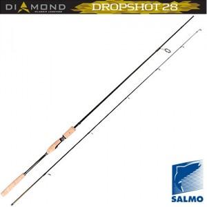 Вудилище спінінгове Salmo Diamond DROPSHOT 28  10-28/2.40