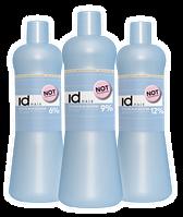 Окислитель для нейтрализации желтого пигмента id Hair Ocean Blue Booster 12% 1000 ml