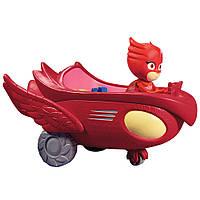 Игрушка Оллет с машиной Герои в масках PJ Masks Vehicles - Owlette and Owl Glider