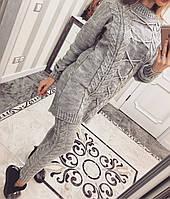 Модный вязаный костюм, фото 1