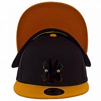 Бейсболка стильная оранжевая NY
