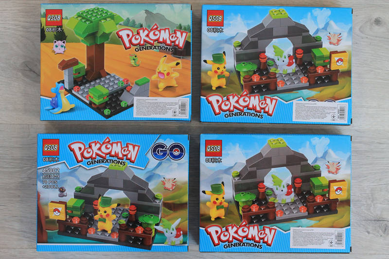 Конструктор Покемон Pokemon Go в коробке 22-17-4,5 см, фото 1