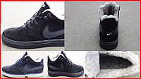 Мужские ботинки велюровые Nike