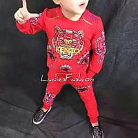 Детский костюм из трикотажа на флизе