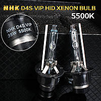 Лампа ксенон D4S 5500K NHK VIP Version (колбы Philips UV) / D4S 5500K NHK VIP Version (Philips raw UV tube)