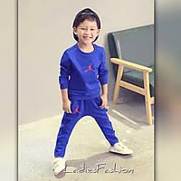 Детский костюм из трикотажа на флисе
