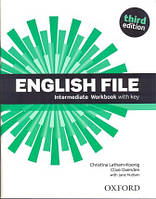 Рабочая тетрадь English File 3rd Edition Intermediate Workbook with iChecker CD-ROM and Answer Booklet