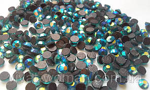 Стрази DMC, Blue Zircon AB SS16 термоклеевие. Ціна за 144 шт