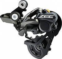 Переключатель задний Shimano Zee RD-M640 Shadow + 10 скоростей короткий рычаг черный