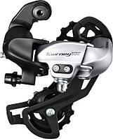 Переключатель задний Shimano Tourney TX RD-TX800 7/8 скоростей серебристый