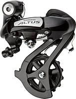 Переключатель задний Shimano Altus RD-M310 7/8 скоростей длинный рычаг черный (RDM310DL)