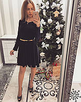 Женское платье с дорогого бархата
