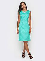 Классическое женское платье приталенного силуэта без рукавов 90183/2, фото 1